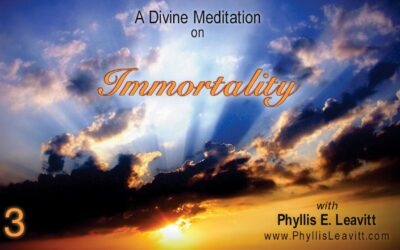 Divine Meditation 3 – Immortality