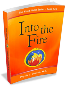 Into the Fire - book cover - Phyllis Leavitt